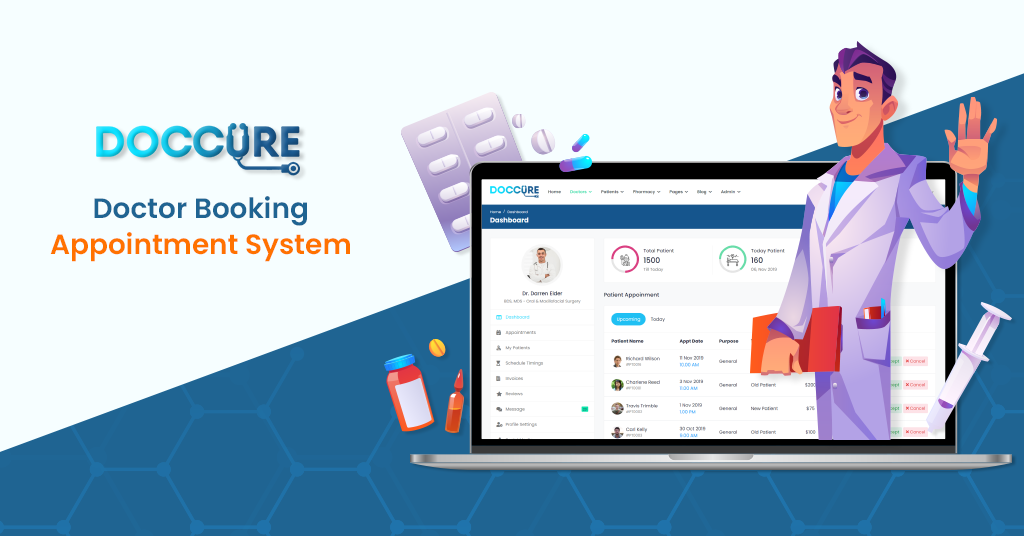 Launch your Business with the Best Practo Clone Template