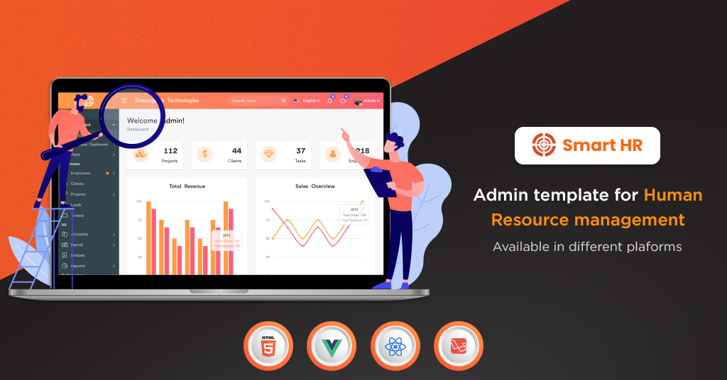 Get HR Admin Template In Different Platforms